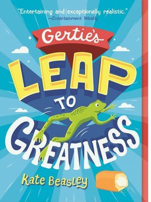 cover image of Gertie's Leap to Greatness