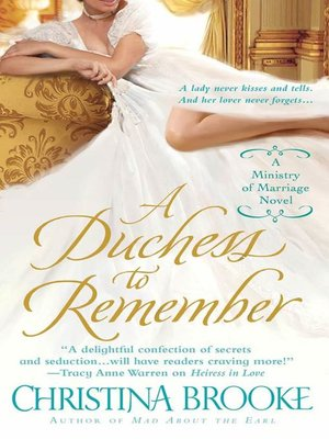 cover image of A Duchess to Remember