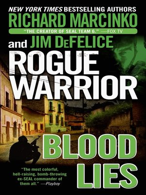 cover image of Rogue Warrior--Blood Lies