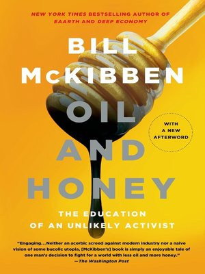 cover image of Oil and Honey