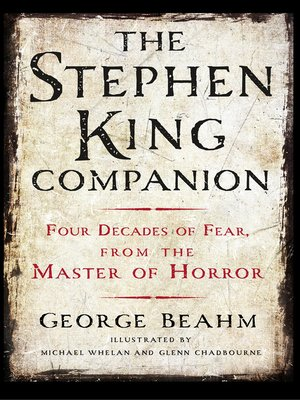 cover image of The Stephen King Companion