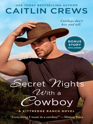 cover image of Secret Nights with a Cowboy