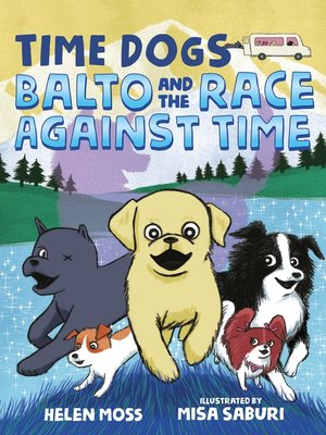 cover image of Balto and the Race Against Time