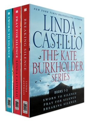 cover image of The Kate Burkholder Series, Books 1-3