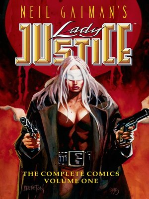 cover image of Neil Gaiman's Lady Justice #1