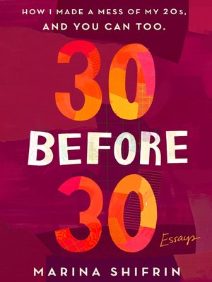 cover image of 30 Before 30