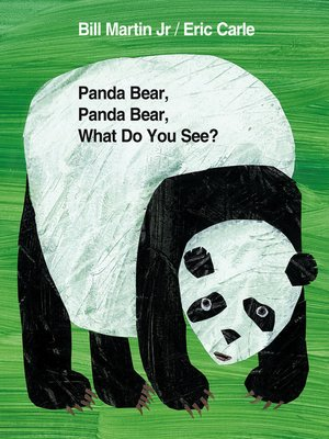cover image of Panda Bear, Panda Bear, What Do You See?