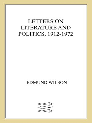 cover image of Letters on Literature and Politics, 1912-1972