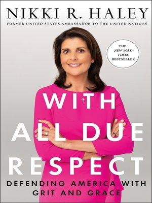 cover image of With All Due Respect
