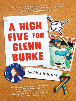 cover image of A High Five for Glenn Burke