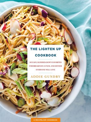 cover image of The Lighten Up Cookbook
