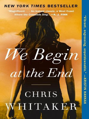 cover image of We Begin at the End