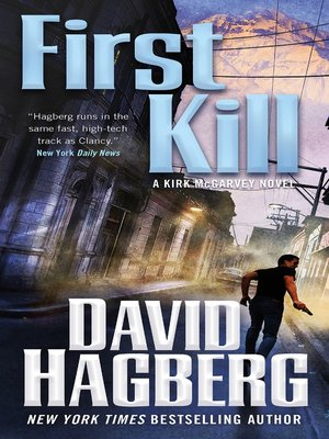 cover image of First Kill--A Kirk McGarvey Novel