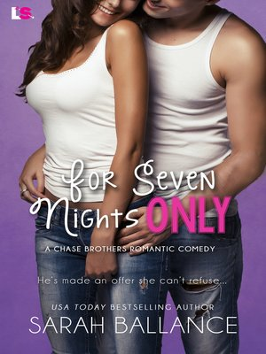 cover image of For Seven Nights Only