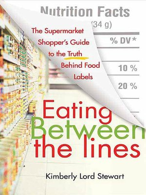 cover image of Eating Between the Lines
