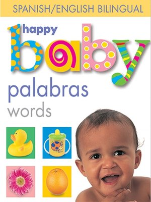 cover image of Happy Baby--Words Bilingual