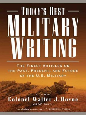 cover image of Today's Best Military Writing