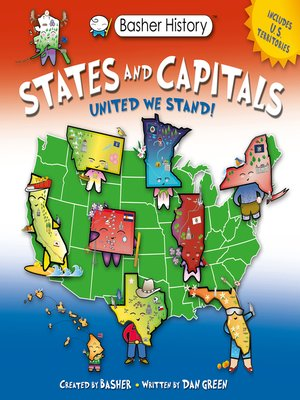 cover image of Basher History--States and Capitals