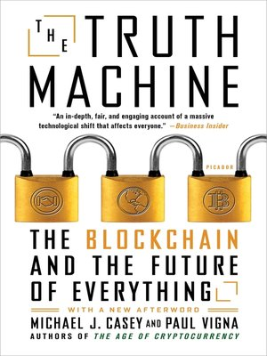 cover image of The Truth Machine