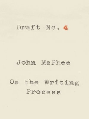 cover image of Draft No. 4