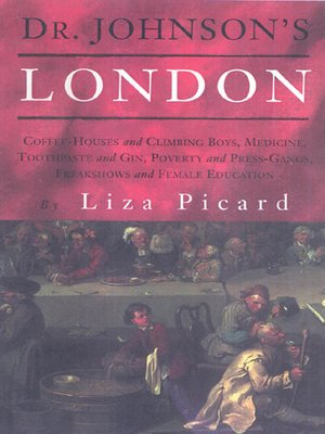cover image of Dr. Johnson's London