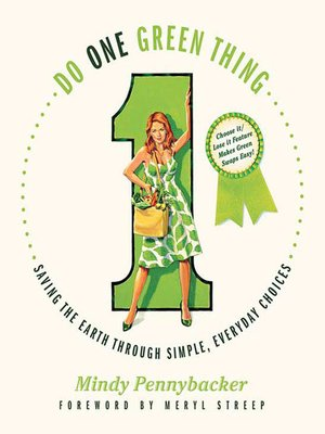 cover image of Do One Green Thing
