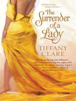 cover image of The Surrender of a Lady