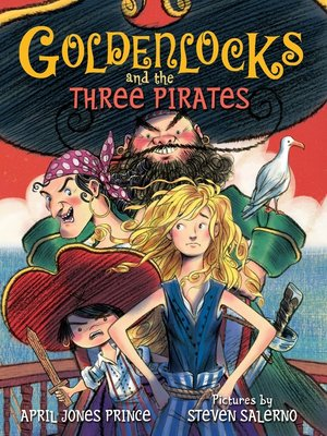 cover image of Goldenlocks and the Three Pirates
