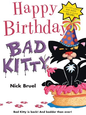 cover image of Happy Birthday, Bad Kitty