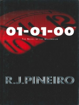 cover image of 01-01-00--The Novel of the Millennium