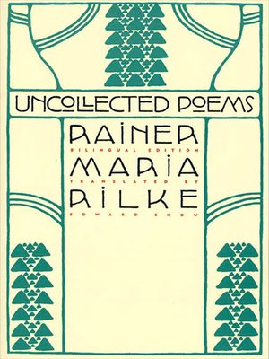cover image of Uncollected Poems