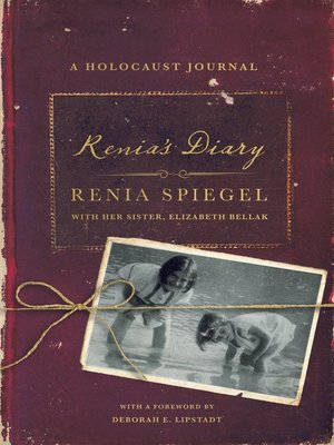 cover image of Renia's Diary