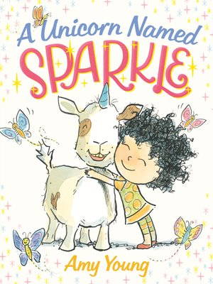 cover image of A Unicorn Named Sparkle--A Picture Book