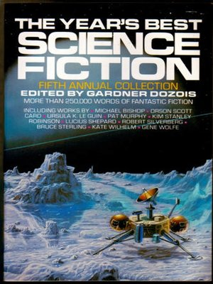 cover image of The Year's Best Science Fiction, Fifth Annual Collection