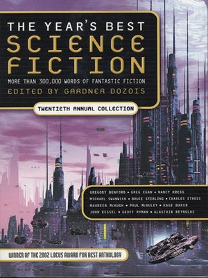 cover image of The Year's Best Science Fiction, Twentieth Annual Collection