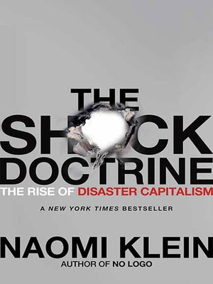 cover image of The Shock Doctrine