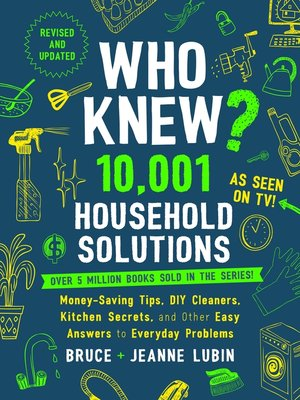 cover image of Who Knew? 10,001 Household Solutions