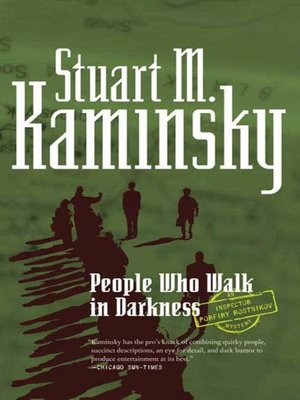 cover image of People Who Walk In Darkness