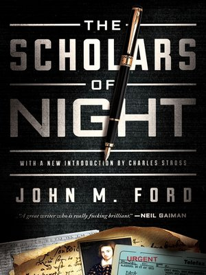 cover image of The Scholars of Night
