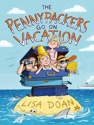 cover image of The Pennypackers Go on Vacation