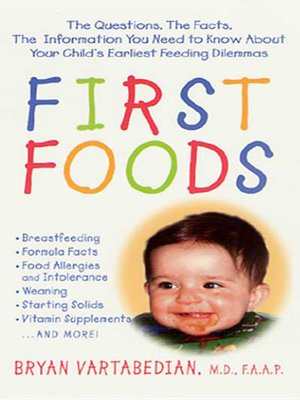 cover image of First Foods