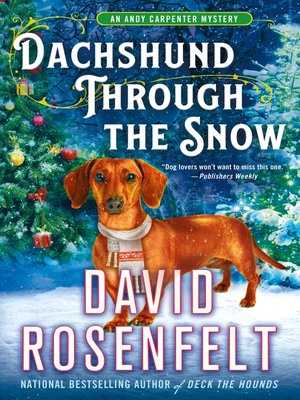 cover image of Dachshund Through the Snow