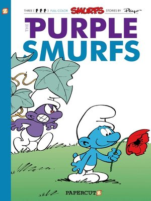 cover image of The Purple Smurfs