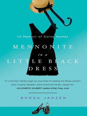 cover image of Mennonite in a Little Black Dress