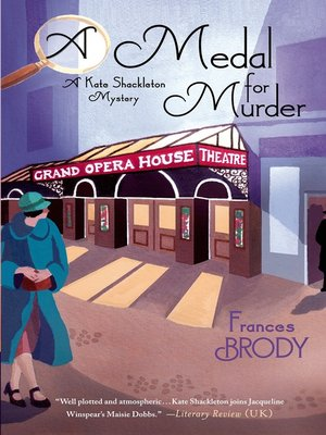 cover image of A Medal for Murder