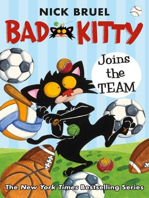 cover image of Bad Kitty Joins the Team