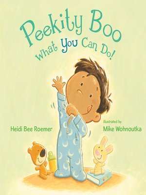 cover image of Peekity Boo—What You Can Do!