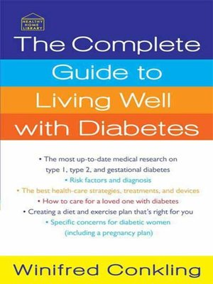cover image of The Complete Guide to Living Well with Diabetes
