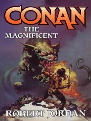cover image of Conan the Magnificent