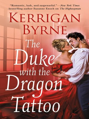 cover image of The Duke With the Dragon Tattoo